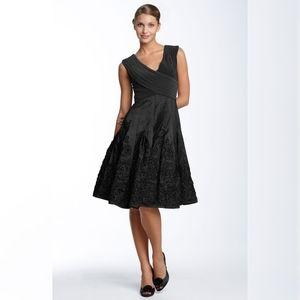 Matte Jersey & Taffeta Party Dress ADRIANNA PAPEL